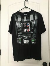 Star Wars DARTH VADER Removable Cape TEE T-Shirt COSTUME MEN'S Size M