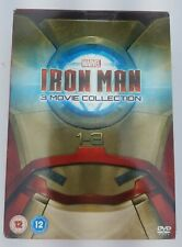 Iron Man 3 Movie Collection (3 DVD Disc Set. 2013, UK import ( Zone 2)
