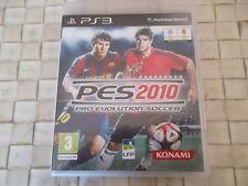 JEUX PS3 - PES2010 PRO EVOLUTION SOCCER