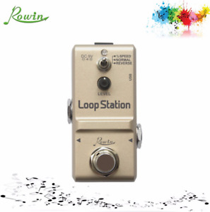 Rowin LN-332S mini Loop Station Effect Pedal with Reverse and 1/2 Speed Function