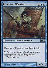 1x FOIL Phantom Warrior M10 MtG Magic Blue Uncommon 1 x1 Card Cards