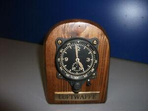 Luftwaffe German WW2 Cockpit clock