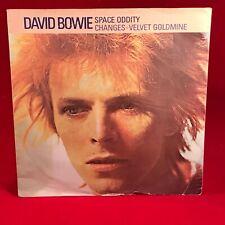 "DAVID BOWIE Space Oddity 1983 UK 7"" vinyl single EXCELL changes Velvet Goldmine"
