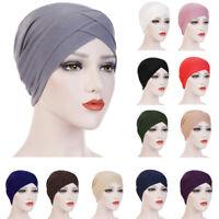 Indian Muslim Women Hijab Turban Chemo Cap Scarf Headwrap Hair Loss Inner Hat