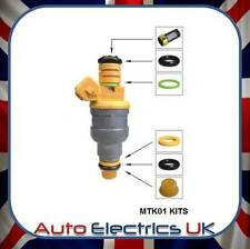 FUEL INJECTOR SERVICE REPAIR KIT - FITS SAAB 9-3 900 9000 - REPAIRS 4 INJECTORS