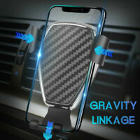 Gravity Phone Holder Air Vent Mount Stand For Car GPS iPhone Mobile Cell Phones