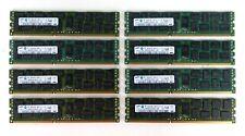 Lot of 8 - Sun Oracle 371-4966 2Rx4 PC3L-10600R 8x8GB 64GB Server RAM
