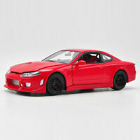 Vintage Nissan Silvia S-15 1999 1:24 Die Cast Modellauto Spielzeug Sammlung Rot