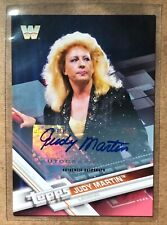 Judy Martin 2017 Topps WWE Legend AUTO Autograph Red Parallel 1/1