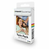 Polaroid 2x3 Premium 20-pack ZINK Zero Photo Paper ZIP Mobile Photo Printer new