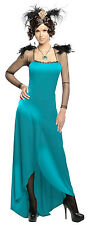 EVANORA Costume Gown Boa Wicked Witch Oz Great Powerful Adult Small 6 8 10