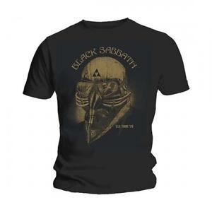 Black Sabbath T Shirt US Tour 78 Official Mens Avengers Iron Man. Ozzy Osbourne