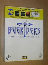 JEU PC 1994 / BUGRIDERS THE RACE OF KINGS / RARE / NEUF SOUS CELLO