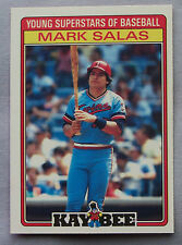 1986 Kaybee MARK SALAS MINNESOTA TWINS LOT OF 2