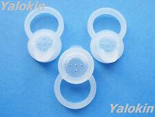 New 3pcs Large (L) Clear Ear-gels Set for Motorola H19 H19txt Hx550 H525 H520