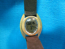 LADIES VINTAGE GOLD TONE OPERA WATCH 17 JEWEL PALMER SALES CORP