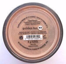 Bare Escentuals Bare Minerals Foundation Golden Tan W30 8g XL ORIGINAL SPF15