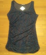 NWT Womens Size Large Blue HALOGEN Nordstrom Sleeveless Top
