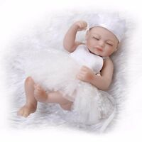 26cm Newborn Handmade Real Looking Baby Vinyl Silicone Realistic Reborn Dolls