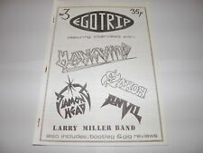 Ego Trip No 3 - Fanzine 1983 Hawkwind Saxon Anvil NWOBHM Larry Miller Diamond Hd