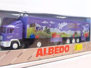 Albedo 800017 MAN Koffersattelzug Milka Frohe Ostern OVP (RR3105)