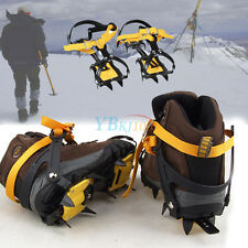 Strap Crampons Belt Slip-resistant Ice Snow Shoes Spike Grip Boots 10 Crampons