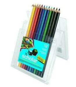 New Prismacolor Scholar 12 Colored Pencils, 92804, 2 Packs ## Quick Ship ! ##