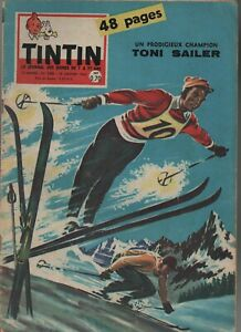 Journal TINTIN n° 588 du 29 janvier 1960. Bel état - Couverture SKI Toni Sailer