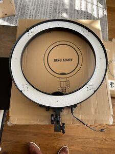 """Neewer 18"""" LED Ring Light 55W 5500K Dimmable Ring Light Kit for Studio Shooting"""