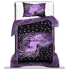Hippie Mandala Unicorn Cotton Comforter Bedcover Indian Bedding Quilts Duvet Set