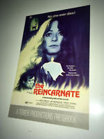 REINCARNATE Vintage Movie Pressbook 1971 Reincarnation Occult Horror Canada
