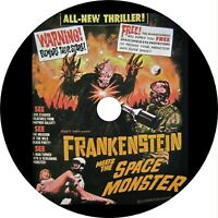 Frankenstein Meets the Space Monster (1965) Horror, Sci-Fi Classic DVD