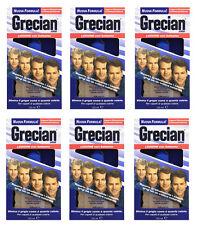 6pz GRECIAN 2000 Lozione per Capelli Grigi con balsamo 125ml elimina il grigio