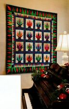 Christmas Cactus Quilt Pattern Pieced/Paper Pieced RP