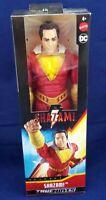"""SHAZAM True Moves 12"""" Inch Scale Action Figure Shazam Movie Mattel DC New"""