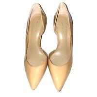 Ann Taylor Women's Nude Beige High Heels Pumps Size 6