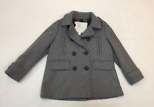 Burberry Boy Coat Willow Steel Grey Melange 4 Years