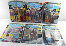 Star Trek Next Generation Action Figures Mixed Lot of 6 Playmates NOC