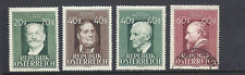 AUSTRIA 1948-9 MUSIC THEME (Sc 516-519, 519 is USED others are MH))