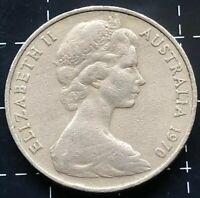 1970 AUSTRALIAN 20 CENT COIN