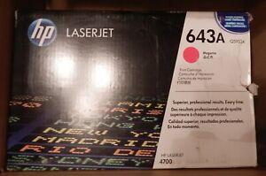 Hewlett Packard HP Toner 643A magenta rot Q5953A