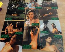 16 Aushangfotos IM GARTEN DER QUALEN Erotik 1976 komplett