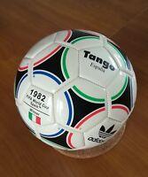 Pallone tango adidas in cuoio Spagna Espana '82 Mint condition mai utilizzato