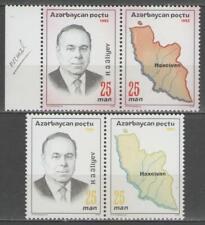 """AZERBAIDJAN:  n°110/111 **, """"variété ERREUR de couleur"""""""
