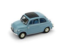 Fiat Nuova 500 Tetto Apribile Chiusa 1959 Celeste 1:43 Update Model R365-04