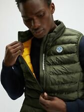 Giubbotto uomo Jacket NORTH SAILS smanicato SKYE 2 GILET 602827 FOREST GREEN