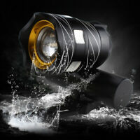 USB Rechargeable XML T6 LED Zoomable MTB Bicycle Light Bike Front Headlight New