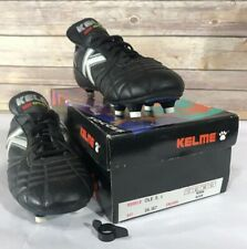 Vintage NOS Kelme Soccer Shoes Sz 6.5 Boy  Euro 39 Black