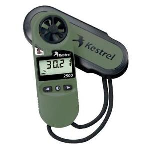 Kestrel 2500NV Wind, Temp, Pressure Meter - 0825NV - Made in USA - Dealer