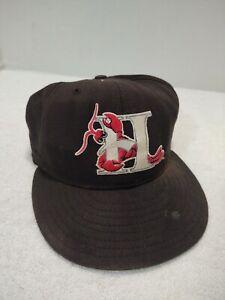 Vintage Hickory Crawdads MiLb New Era Baseball Hat Size 7 7/8